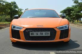 Audi R8 Front - audi r8 v10 plus review