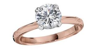 pink gold engagement rings one of a engagement rings for 2015 jabel jewelry
