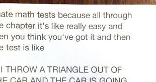 Scalene Triangle Meme - this hilarious note posted on a maths teacher s door will have you