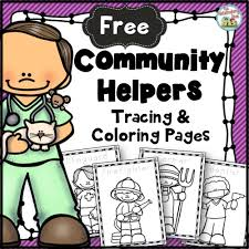community helpers and labor day in the primary classroom reading
