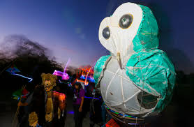 15th annual great halloween lantern parade at patterson park