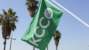 White Flag With Green Leaves The Kcco Flag Green U2013 The Chivery