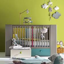 alinea chambre bébé calisson lit bébé à barreaux 3 escamotables 70x140cm