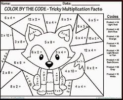 Exquisite Ideas Multiplication Coloring Pages Math 7th Grade 03 Multiplication Coloring Page
