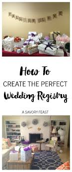 where to make a wedding registry how to create the wedding registry