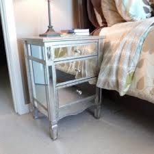 Small Mirrored Nightstand Elegant Mirror Nightstand Additional Home Furniture Designs
