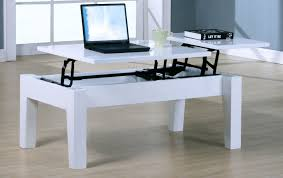 high gloss white finish rectangle laptop coffee table u2014 turquoise