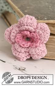 Tiny Flower Crochet Pattern - drops extra 0 675 free crochet patterns by drops design