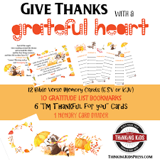 thanksgiving activities for thinking