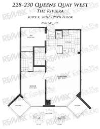 Cn Tower Floor Plan by The Riviera Toronto Remax Condos Plus