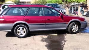 burgundy subaru legacy 1998 subaru outback burgundy 4 speed automatic wagon youtube