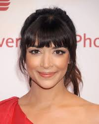 best type of bangs for your face shape bangs for round oval