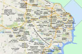 Map Of Virginia Cities And Towns by This Map Of Northern Virginia Will Probably Offend Everyone