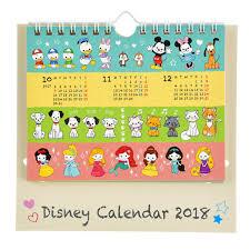 disney desk calendar 2017 disney japan desk calendar 2018 disney characters zurari ebay