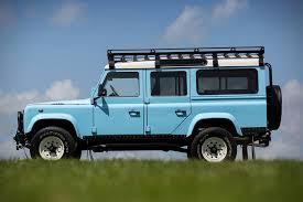 blue land rover land rover defender 110 u0027anejo u0027 by arkonik hiconsumption