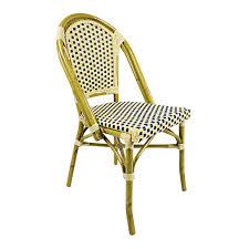 Woven Bistro Chairs Aluminum Rattan Bistro Chair Al641 Maxsun Group