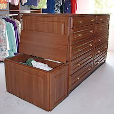 Closet Island With Drawers by Walk In Bedroom Closets