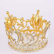 alloy tiaras hair tiara circular crown jewelry classic