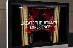 make events tripleseven creative ltd web design cheshire