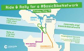 Seattle Neighborhood Map Four Neighborhood Rides Will Meet At City Hall For A Friday Rally