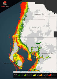 Safety Harbor Florida Map by Storm Surge Imperils 455 000 Tampa Bay Homes Report Says Tbo Com