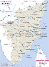 world rivers map shapefile tamil nadu river map