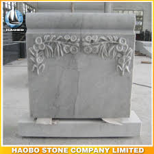 marble headstones china white marble headstone with carved flowers china headstone