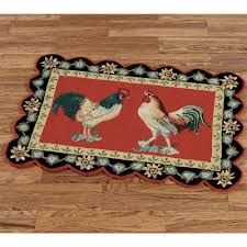 rooster rugs for the kitchen some designs of rooster kitchen