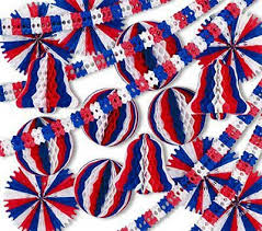 patriotic 4th of july decorations patriotic theme decorating kits