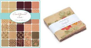 buy moda fabric courtyard moda treat 3 5 inch square for only 8