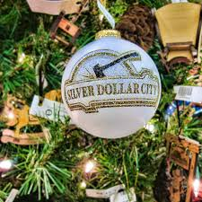 silver dollar city ornament glass bulb ornament from silve flickr