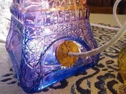 cheap wholesale creative rainbow glass eiffel tower shaped bottle