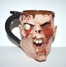 handmade zombie mugs and more