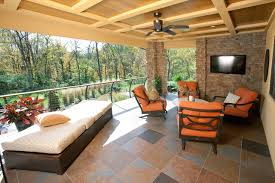 covered porch covered porch contemporary deck cincinnati by rwa architects