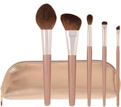 bareminerals plushest touch 5 pc brush collection w bag page 1