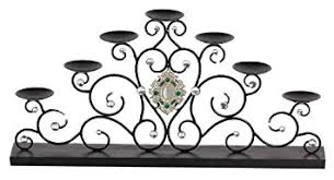 Large Candle Holders For Fireplace by Large Metal Votive Fireplace Candle Holder Fire Place Amazon Co