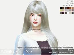 cc hair for sism4 67 best sims 4 cc finds korean hair female images on pinterest