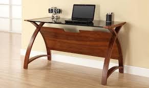Laptop Desks Uk Serpentine 130cm Laptop Desk Walnut Finish Desks Fishpools