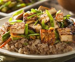 cuisiner tofu poele poêlée au tofu recette de poêlée au tofu marmiton