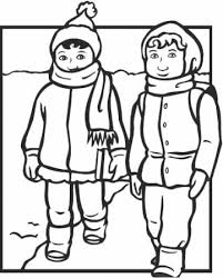 clothes coloring pages winter clothes coloring pages allegiancewars com