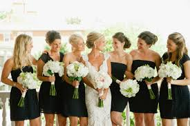 black bridesmaid dresses should you wear black to a wedding secret wedding