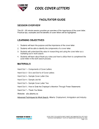 Cold Contact Cover Letter Sample Cool Cover Letters Resume Cv Cover Letter