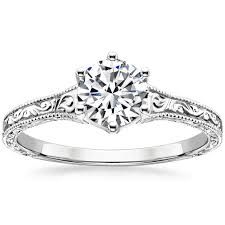 filigree rings brilliant earth - What Is An Engagement Ring