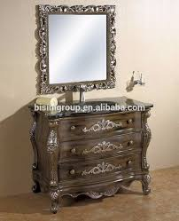 50 Inch Bathroom Vanity by Vanities Hand Carved Mirror Cabinet Classical Bathroom Vanity