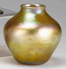 Tiffany Favrile Glass Vase Art Glass Dealers Regain Stolen Tiffany Pieces