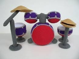 drum knitting pattern crochet pattern drum set toys pdf 5 99 via etsy crochet