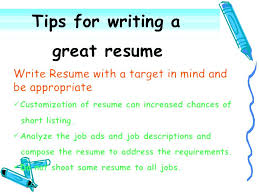 effective resumes tips writing a resume tips resume layout resume exles resume builder