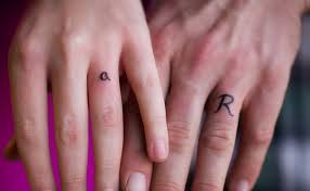 wedding finger designs and smallish tattoos