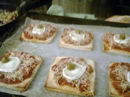 recette amour de cuisine recette de tartine pizza par notre amour de cuisine