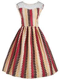dresses 5xl plus size mesh panel rhombus color block dress gamiss
